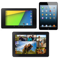 Kindle Fire HDX 7 vs Nexus 7 (2013) vs Apple iPad mini