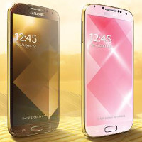 Samsung to launch a special gold Galaxy S4 edition