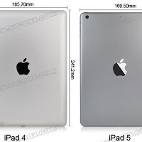Video shows how much lighter, thinner and narrower the Apple iPad 5 will be