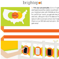 Target makes Brightspot official with October 6th launch for the pre-paid carrier