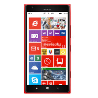 It's red, large and in charge; press render of Nokia Lumia 1520 tweeted