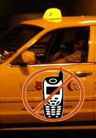 NYC may ban cell phone usage by taxi drivers