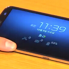 First Samsung Galaxy Round hands-on appears