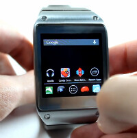 The Samsung Galaxy Gear can run full Android apps