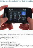 Bell offers OS 4.7.0.122 for the BlackBerry Storm 9530