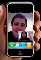 Apple patent for motion changing interface on iPhone also hints at video chat