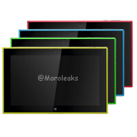 Tweet shows Nokia Lumia 2520 in all expected colors (probably fake)