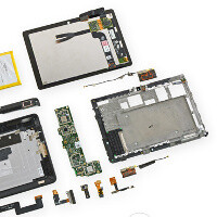 Amazon's Kindle Fire HDX gets torn down: battery almost impossible to replace