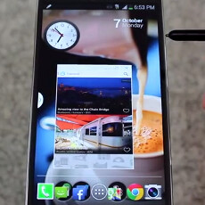 How to open any app in Pen Window mode on the Galaxy Note 3