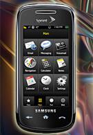 Samsung Instinct s30 now for sale