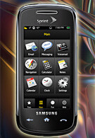 Samsung Instinct s30 now for sale