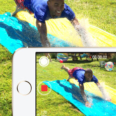 The iPhone 5s slow motion video might not be true 720p, experiment against the Note 3 shows