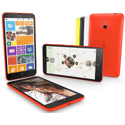 "6"" Nokia Lumia 1320 outed with 3400 mAh battery:"