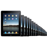 170 million iPads sold to date, 475k iPad apps available