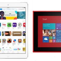 Apple iPad Air vs Nokia Lumia 2520 vs Samsung Galaxy Note 10.2 2014: specs comparison