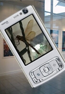 Nokia launches the world's first exhibition of pictures taken with a phone