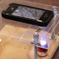 Here is how to turn your smartphone into a digital microscope for just $10: DIY