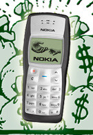 Hackers seem to be on a buying spree for Nokia 1100 phones, Nokia has no idea why