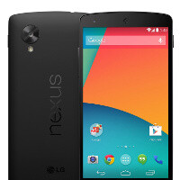 Nexus 5 is here: available today on Google Play