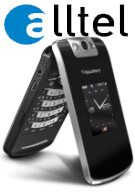Alltel launches the BlackBerry Pearl Flip 8230 at the beginning of May