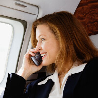 FAA allows cellphones and tablets to be used