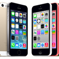Space gray most popular Apple iPhone 5s color; blue tops Apple iPhone 5c color options