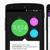 Nexus 5 features two new sensors: step detector and step counter
