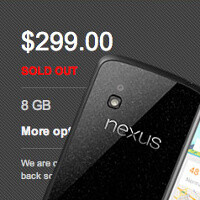 Nexus 4 is no longer sold on Google Play