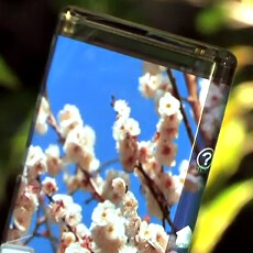 SEL demos the most bendable mobile display that can wrap around phone sides (video)