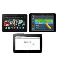 Amazon Kindle Fire HDX 8.9 beats out the Apple iPad Air and Nexus 10 in display test