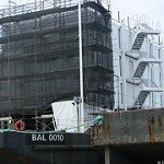 """Google's """"mystery barge"""" to be an interactive space to showcase for Google Glass"""