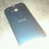 Pictures of the HTC M8's back cover leak, reveal mysterious new element