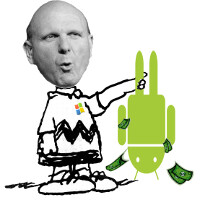 Microsoft banks on the success of Android to help finance Windows Phone