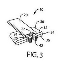 Nokia patents foldable battery