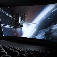 Video promo for the LG G Flex calls the phone a mobile IMAX theater; images show off accessories