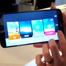 LG G Flex new interface features get shown on video