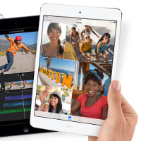 New Apple iPad mini has higher pixel density, but poorer color accuracy than the Apple iPad Air