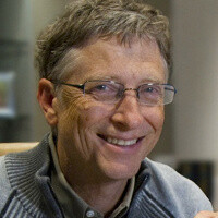 Bill Gates chokes back tears while discussing the quest for new Microsoft CEO