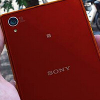 Red Sony Xperia Z1 found; device is running Android 4.4.2