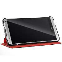 HTC One max Power Flip Case final design improves its ability to act as a stand