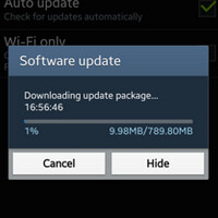 Samsung Galaxy S4 and Samsung Galaxy S4 mini are updated in