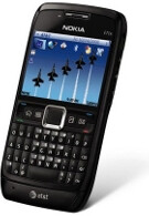 Nokia E71x on sale now at AT&T