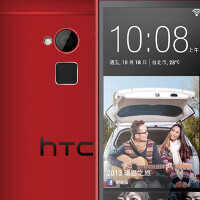 Image of red HTC One max spotted on promo for Taiwan carrier