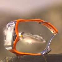 More slow-motion action as Samsung Galaxy Gear gets put to the ultimate test