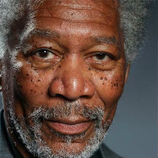 Photo-realistic painting of Morgan Freeman done on an iPad