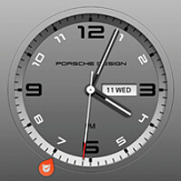 Get the BlackBerry Porsche Design P'9982 clock on your BlackBerry Z10