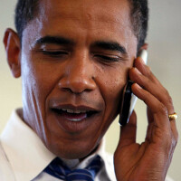 President Obama says that he can't own an Apple iPhone