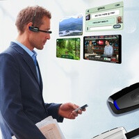The smart-glasses age gets an early start with the Vuzix  M100 available for pre-order