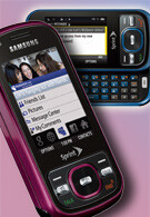 Samsung Exclaim M550 succeeds the Rant next month?