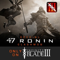 First Infinity Blade III Special Event ClashMob unites players against movie villain